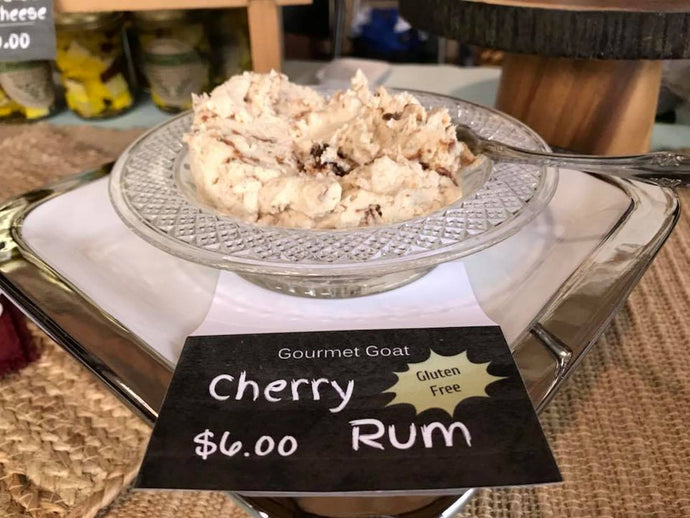 GOAT CHEESE CHERRY RUM DIP