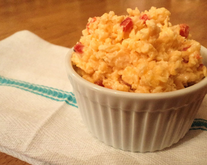 GOURMET GOAT CHEESE - PIMENTO CHEESE SPREAD