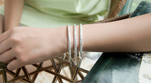 Load image into Gallery viewer, 925 Sterling Silver Bohemian Carved Bangle