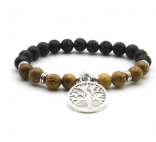 Load image into Gallery viewer, Hand-made Tree of Life Bracelet