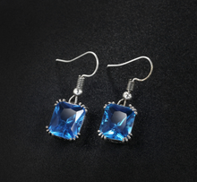 Load image into Gallery viewer, Ocean Gemstone Earrings