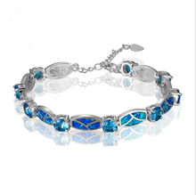 Load image into Gallery viewer, Blue Opal Style Bracelets