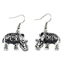 Load image into Gallery viewer, Elephant earrings