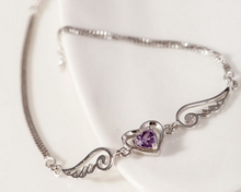 Load image into Gallery viewer, Angel Wing Love Bracelet