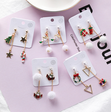 Load image into Gallery viewer, Christmas Drop Earrings