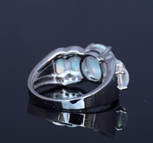 Load image into Gallery viewer, Enchanted Replica Five Opal Ring