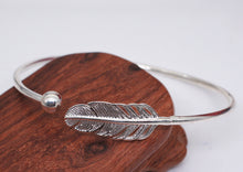 Load image into Gallery viewer, Tibetan Silver Guardian Angel Bangle
