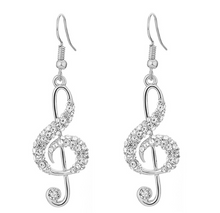 Load image into Gallery viewer, Music Lover Earrings