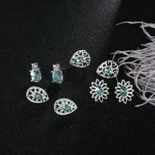 Load image into Gallery viewer, Sea Green Earrings Collection