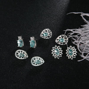 Sea Green Earrings Collection