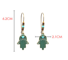 Load image into Gallery viewer, Ancient Bohemia Drop Earrings