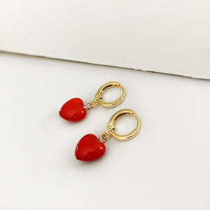 Hoop Love Earrings