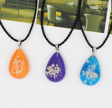 Load image into Gallery viewer, Immortal Flower Time Gemstone Necklace