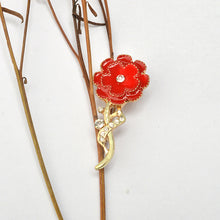Load image into Gallery viewer, Loving Memories Carnation Brooch