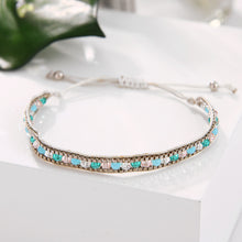 Load image into Gallery viewer, Boho braided bracelet