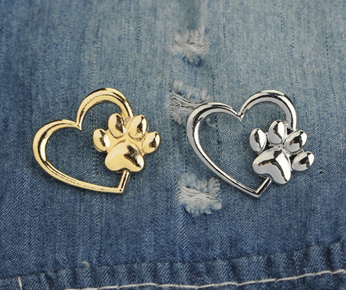 Paw Pet Love Brooch