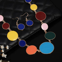Load image into Gallery viewer, Multicolor Circles Shape Jewelry Sets