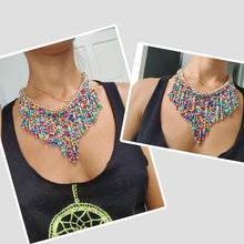Load image into Gallery viewer, Hand Woven Boho Necklace