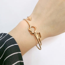 Load image into Gallery viewer, Cupids Arrow Bangle