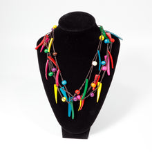 Load image into Gallery viewer, Reggae Rainbow Necklace