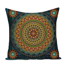 Load image into Gallery viewer, Hippy Mandala Pillowcase