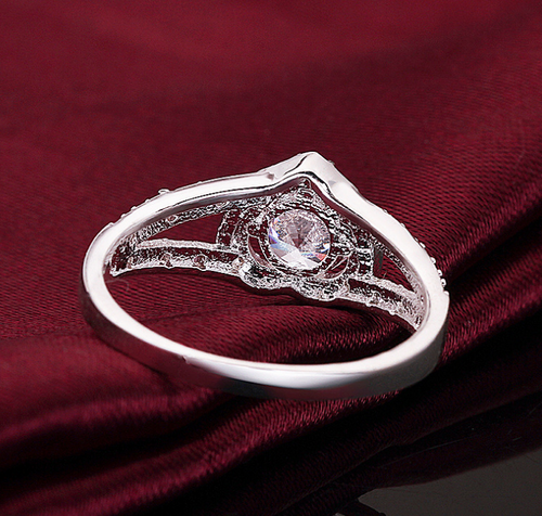 Sincere Heart Replica Diamond Ring