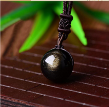 Load image into Gallery viewer, Natural Healing Stone Bead Pendant