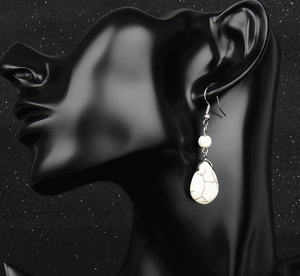 Retro Tear Drop Earring