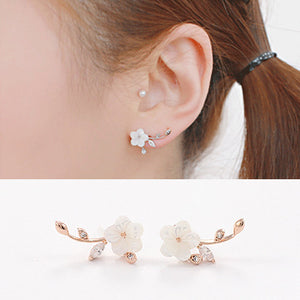 Flower Climber Earrings
