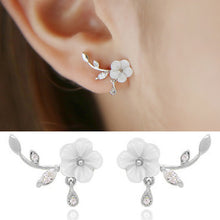 Load image into Gallery viewer, Flower Climber Earrings