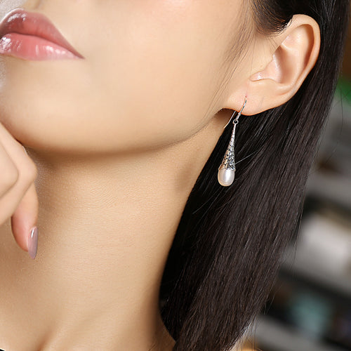 S925 Tear Drop Earrings