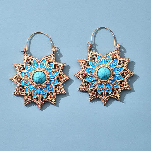 Mediterranean Boho Earrings