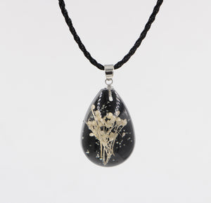 Immortal Flower Time Gemstone Necklace