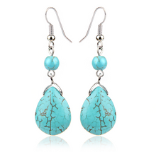 Load image into Gallery viewer, Retro Tear Drop Earring