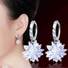 Load image into Gallery viewer, Hypoallergenic Frosted Star Earrings