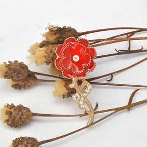Loving Memories Carnation Brooch
