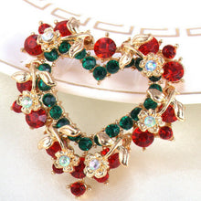 Load image into Gallery viewer, Christmas Love Brooch