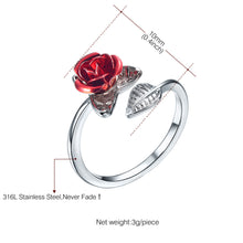 Load image into Gallery viewer, Two Tone Rose Ring