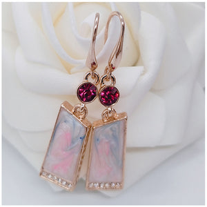 Retro Prism Drop Earrings
