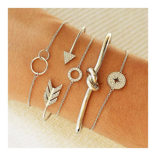 Bohemia 5-piece Bangle Set