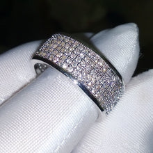 Load image into Gallery viewer, Replica Crushed Diamond Ring