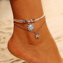 Load image into Gallery viewer, Bohemian Elephant Sun Anklet