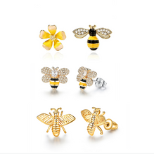 Load image into Gallery viewer, Bee Earings