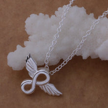 Load image into Gallery viewer, Infinity Memories Angel Pendant