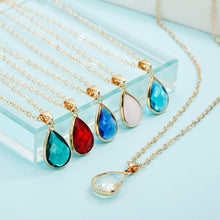 Load image into Gallery viewer, Boho Tear Drop Necklace