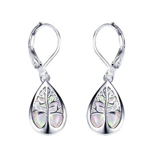 Load image into Gallery viewer, Angel Tear Tree Of Life Earrings