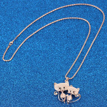 Load image into Gallery viewer, Cat Lovers Necklace