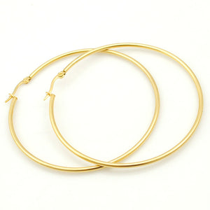 Large Hooped Earrings