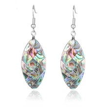 Load image into Gallery viewer, Paua Abalone Shell Earrings