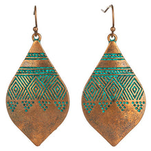 Load image into Gallery viewer, Egyptian Style Drop Earrings